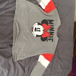 Long sleeve Minnie Mouse shirt